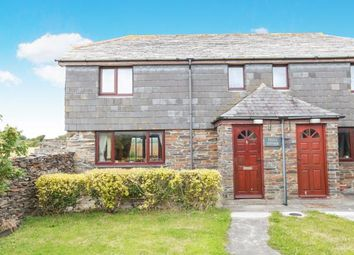 Thumbnail 2 bedroom semi-detached house for sale in St. Minver, Wadebridge, Cornwall