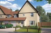 Thumbnail 4 bedroom link-detached house for sale in The Lilac, Station Road, Framlingham, Suffolk