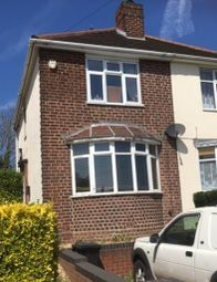 Thumbnail 2 bed semi-detached house to rent in Hungary Hill, Stourbridge, West Midlands