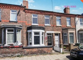 Thumbnail 3 bed terraced house to rent in Lea Road, Wallasey