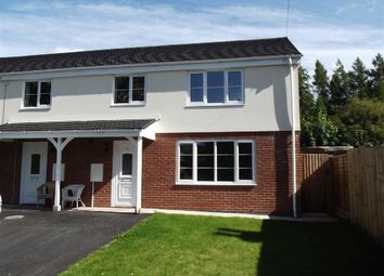 Thumbnail 3 bed semi-detached house to rent in Hollywell Close, Ross On Wye, Herefordshire