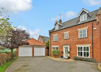 Thumbnail 5 bed detached house for sale in Cransley Rise, Mawsley Village, Kettering, Northants