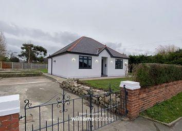 Thumbnail 3 bed detached bungalow to rent in Vicarage Lane, Rhuddlan, Rhyl