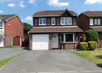 Thumbnail 4 bed detached house for sale in Harrogate Close, Great Sankey, Warrington