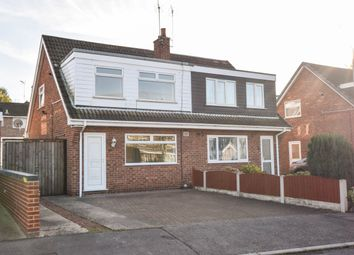 Thumbnail 3 bed semi-detached house to rent in Field Close, Mansfield Woodhouse, Nottinghamshire