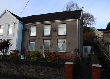 Thumbnail 3 bedroom semi-detached house to rent in New Road, Ynysmeudwy, Pontardawe, Swansea