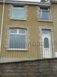 Thumbnail 2 bed terraced house to rent in Bedw Road, Bedlinog, Treharris