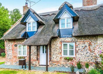 Thumbnail 2 bedroom end terrace house for sale in Sunnyside, Wretham, Thetford
