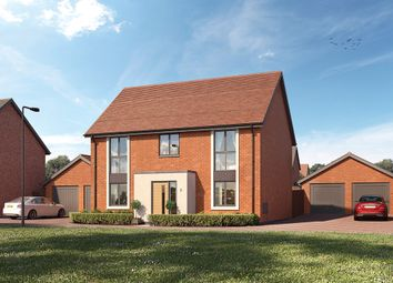 "Thumbnail 4 bed property for sale in ""The Calder"" at Crick Road, Hillmorton, Rugby"