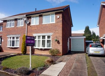 Thumbnail 3 bed semi-detached house for sale in Lintly, Tamworth