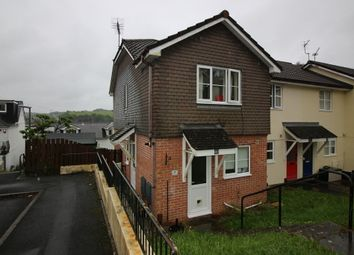 Thumbnail 3 bed end terrace house to rent in Biscombe Gardens, Saltash