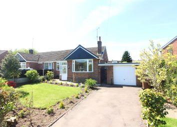 Thumbnail 2 bed semi-detached bungalow for sale in Oakdene Close, Blythe Bridge, Stoke-On-Trent