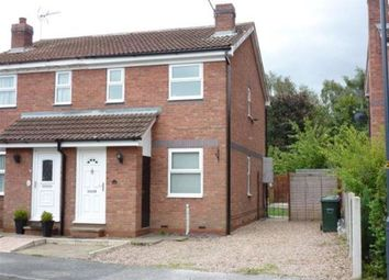 Thumbnail 2 bed semi-detached house to rent in Hill Top Close, Wistow, Selby