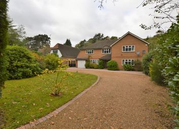 Thumbnail 5 bed detached house to rent in Pyrford Woods Road, Pyrford, Woking