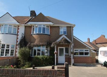 Thumbnail 4 bed semi-detached house for sale in Congreve Road, Worthing