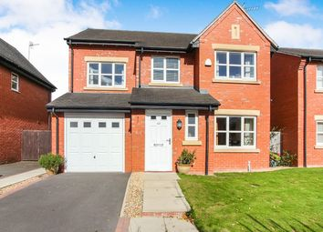 Thumbnail 4 bed detached house for sale in The Meadows, Cockshutt, Ellesmere