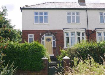 Thumbnail 3 bed semi-detached house to rent in Park Crescent, Accrington, Lancashire