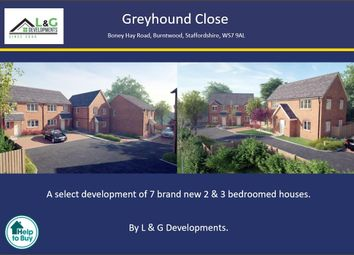 Thumbnail 3 bed semi-detached house for sale in Greyhound Close, Off Boney Hay Road, Burntwood