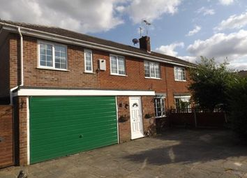 Thumbnail 4 bed semi-detached house for sale in Roughton, Norwich, Norfolk
