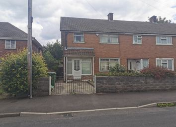 Thumbnail 3 bed end terrace house for sale in Othery Place, Llanrumney, Cardiff