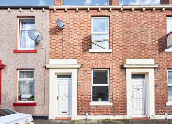 Thumbnail 2 bed terraced house for sale in Trafalgar Street, Carlisle, Cumbria