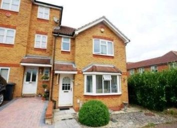 Thumbnail 3 bed terraced house to rent in Lampeter Close, Kingsbury