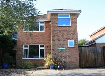 Thumbnail 4 bed detached house for sale in Drake Close, Southampton