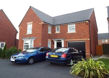 Thumbnail 4 bed detached house to rent in Belvedere Drive, Great Sankey, Warrington