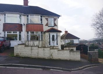 Thumbnail 3 bed semi-detached house for sale in Gaer Park Hill, Newport
