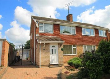 Thumbnail 3 bed semi-detached house for sale in Roseby Way, Bedford