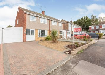 Thumbnail Semi-detached house for sale in Nuthall Grove, Glen Parva, Leicester