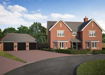 "Thumbnail 5 bedroom detached house for sale in ""Oak House"" at Kendal End Road, Barnt Green, Birmingham"