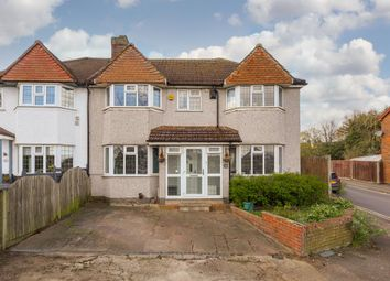 Thumbnail 4 bed semi-detached house for sale in The Hawthorns, Ewell, Epsom