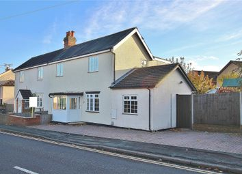 Thumbnail 3 bed semi-detached house for sale in Knaphill, Surrey