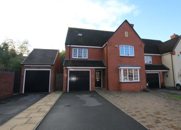 Thumbnail 5 bed detached house for sale in Stoney Leasow, Birmingham Road, Sutton Coldfield