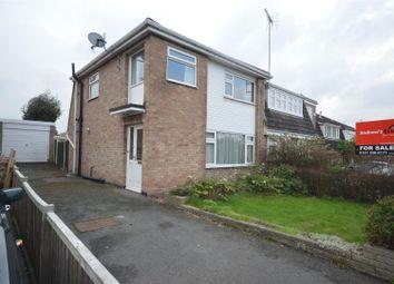 Thumbnail 3 bed semi-detached house for sale in Hampton Crescent, Little Neston, Neston