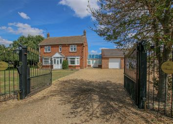 Thumbnail 4 bed detached house for sale in Lords Lane, Wisbech