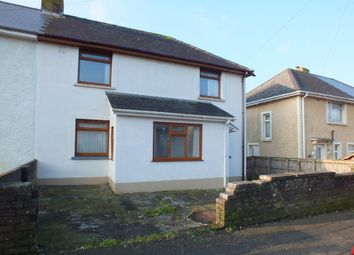 Thumbnail 3 bedroom semi-detached house to rent in Cromwell Road, Milford Haven, Pembrokeshire