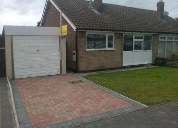 Thumbnail 2 bed semi-detached house to rent in Thoresby Crescent, Draycott, Derby