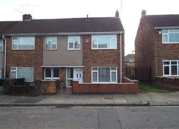 Thumbnail 3 bed end terrace house for sale in Charlecote Road, Coventry, West Midlands