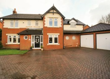 Thumbnail 5 bed detached house for sale in Copperfields, Lostock, Bolton