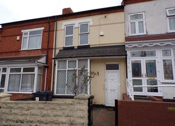 Thumbnail 4 bed terraced house for sale in Oakwood Road, Sparkhill, Birmingham, West Midlands