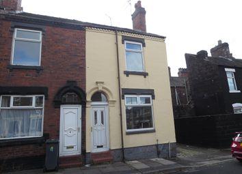 Thumbnail 3 bed end terrace house for sale in Barber Street, Burslem, Stoke-On-Trent