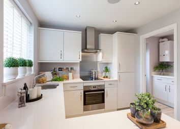 "Thumbnail 3 bed detached house for sale in ""The Hatfield"" at Hilltop, Oakwood, Derby"
