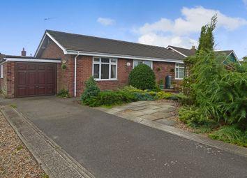Thumbnail 2 bed detached bungalow for sale in Hillside Avenue, Worlingham, Beccles