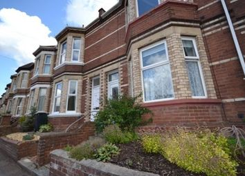 Thumbnail 3 bed terraced house to rent in Barrack Road, Exeter