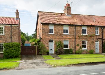 Thumbnail 3 bed end terrace house for sale in Main Street, Sutton-On-The-Forest, York