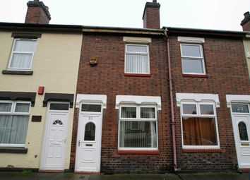 Thumbnail 2 bed terraced house for sale in Nicholls Street, Stoke-On-Trent