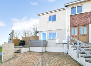 Thumbnail 2 bed end terrace house for sale in Foxley Crescent, Newton Abbot, Devon