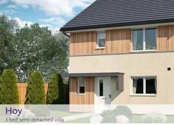 Thumbnail 3 bed semi-detached house for sale in Plot 37, The Hoy, Little Cairnie, Arbroath
